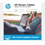 HP Stream Tablet PC mit bis zu 50 Euro Cashback