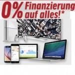 o% Finanzierung für neue Notebooks, Tablet und mehr