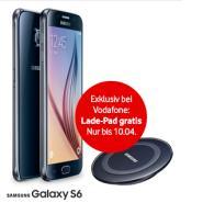 Samsung Galaxy S6 plus Lade-Pad gratis plus 3 Monate Tarif geschenkt