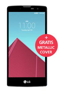 LG G4 inklusive GRATIS Metallic Gold Cover!