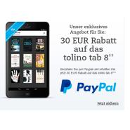 Top Angebot: 30 Euro sparen beim Tolino Tab 8