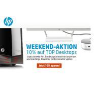 HP Weekend: 10% Rabatt auf Top Desktop Pcs