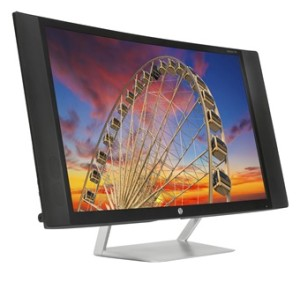 HP Pavilion 27c Curved Display