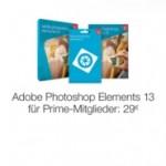 Adobe Photoshop Elements nur 29 Euro für Prime Mitglieder