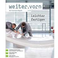 Fraunhofer-Magazin »weiter.vorn« als kostenlose App - jetzt auch für Android