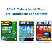 PC Welt verschenkt drei Sonderhefte (PDF)