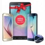 o2:  Gratis Tablet im Wert von 199 Euro gratis beim Samsung Galaxy S6