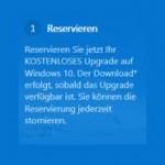 Windows 10 reservieren und kostenlos am 29. Juli upgraden