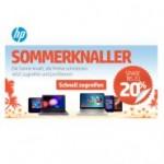 HP Summer Sale mit bis zu 20% Rabatt