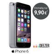 iPhone 6 für einmalig 9,90  mit Tarif Red 3G
