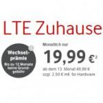 Alle Vodafone LTE Zuhause Pakete für 19,99 im ersten Jahr