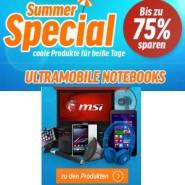 Summer Special Aktion bei Notebooksbilliger.de