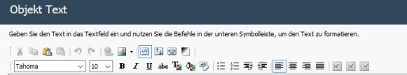 WebSite X5 Texte bearbeiten
