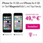 iPhone 5s und iPhone 5c im Doppelpack zum reduzierten Preis