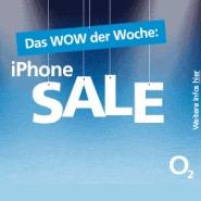 o2 Wow der Woche: iPhone Sale