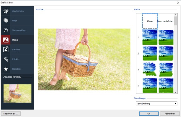 WebSite X5 - Grafikeditor