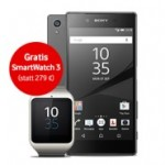 Sony Xperia  Z5 plus gratis SmartWatch 3 im Bundle