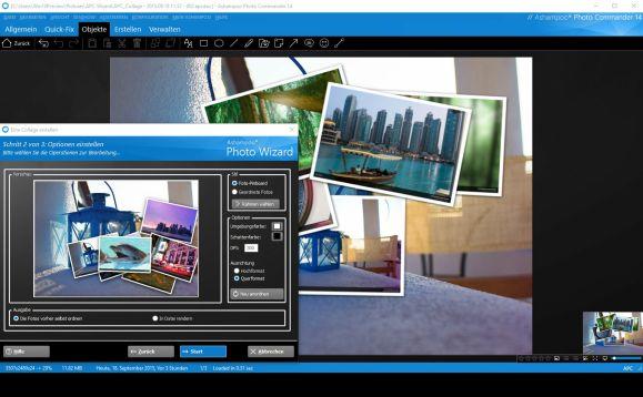 Ashampoo Photo Commander 14 - Foto verwalten und Bearbeiten - Assistenten