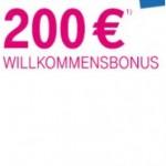 Telekom Mobilfunk: 200 Euro Gutschrift für Neukunden