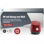 HP: 50% Rabatt auf Audio-Zubehör beim Kauf eines Notebooks oder Desktop PC mit Audio von Bang & Olufsen