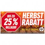HP Herbstrabatte : Notebooks bis zu 25%billiger