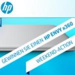 Tolle HP Weekend Aktion: HP ENVY x360 Notebook Gewinnspiel und 50 Euro Gutschein für diverse HP Notebooks