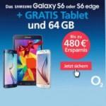 o2 Wow der Woche: Samsung Galaxy S6 edge mit Vertrag + Tablet geschenkt