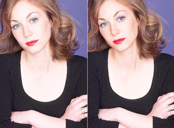 PaintShop Pro X8: Make-up Tools - Sonnebräune hinzufügen, Sommersprossen entfernen