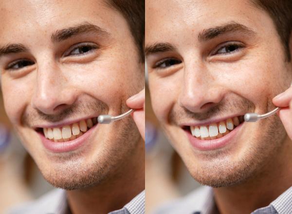 PSP X8: Make-Up Werkezeuge - weiße Zähne