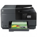 Kombi Paket: HP Officejet Pro 8610 e-All-in-One-Drucker mit HP 950 Schwarz Original Tintenpatrone