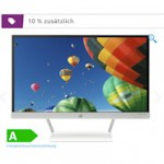 HP Pavilion 22xw Monitor mit blendfreien Full-HD Display