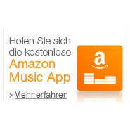 Amazon Musik App: kostenloses Steraming von Musik füer Amazon Prime Mitglieder