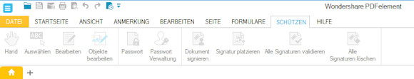 pdfelement - PDF Dokumente schützen