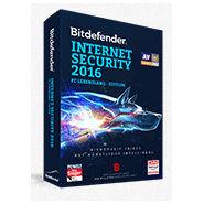 Bitdefender INTERNET SECURITY 2016 PC Lebenslang Edition mit 5 Jahre Internet Schutz zum Sonderpreis