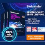 Bitdefender Xmas Promotion: 1 Jahr Internet Schutz gratis dazu