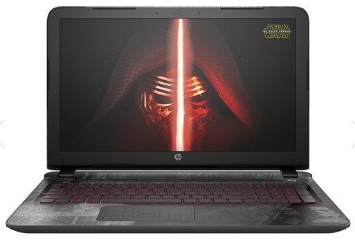 HP: Star Wars™ Special Edition Notebook für Fans und Gamer it vielen Extras wie Star Wars Wallpapern, Trailern, Bildern und mehr