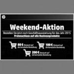 HP Weekend: Bis zu 200 Euro Rabatt auf HP Business Produkte