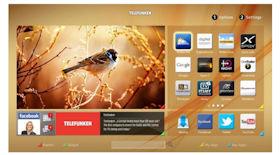 Telefunken D32F287A3CW LED-TV mit Smart-TV