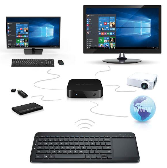 TrekStor MiniPC W2 jetzt mit sicherer Microsoft-Tastatur im Bundle