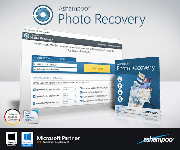 Ashampoo Photo Recovery: Fotos und Bilder retten