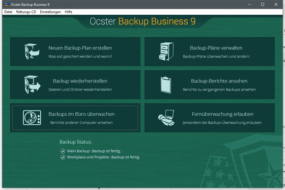 Ocster Backup Business