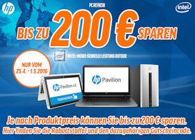 HP PC Refresh Aktion bei Notebooksbilliger - bis zu 200 Euro Rabatt