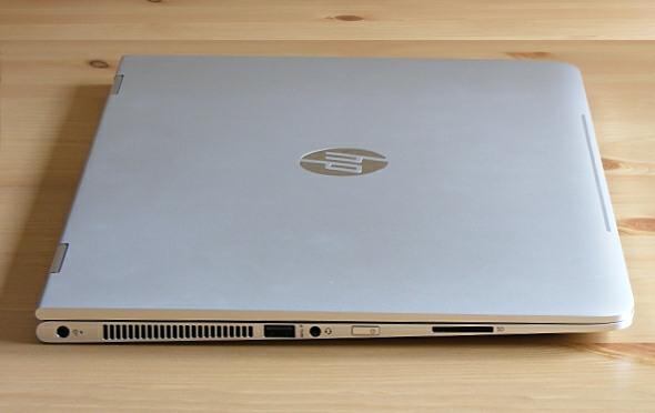 HP Spectre x360 - Anschlüsse links