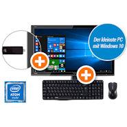 Bundle: Intel PC Stick + Monitor + Tastatur und Maus