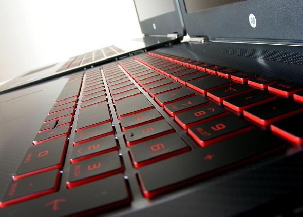 Omen by HP Tastatur mit Hintergrundbeleuchtung