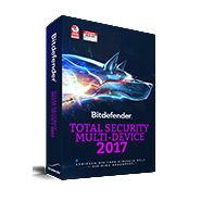 bitdefender total security multidevice 2017 mit Echtzeit-Ransomwareschutz