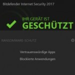 bitdefender 2017 ransomware schutz