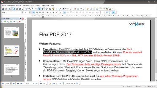 SoftMaker FlexiPDF 2017