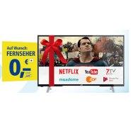 1&1 DSL Aktion mit Gratis JVC LED-TV und Gratis Google Chromecast