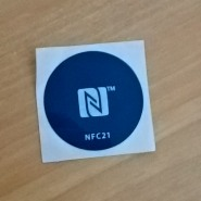 NFC Tag Aufkleber